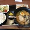 味彩 - 料理写真:ラーメンセット 唐揚げ定食