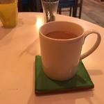 喫茶ラクタ - ホットチャイ