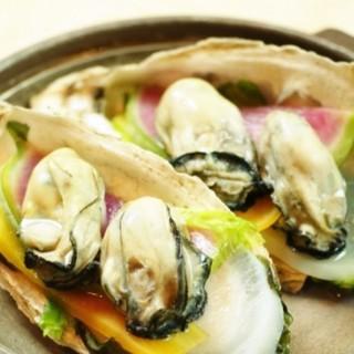 夏のおすすめ能登岩牡蠣を色んなお料理で愉しむ。