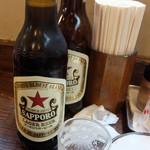 87286887 - ビールは大瓶~嬉しい、安い2018年5月