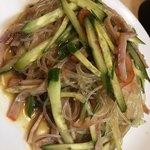 創作新中華料理 昇龍 - 料理写真:ラー油辛かった春雨