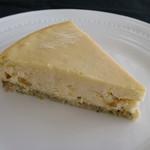 柞の杜 - 【パイナップルチーズケーキ】   パイナップルのコンフィチュールを たっぷり使って焼き上げました。  トロピカルな風味を どうぞお楽しみくださいませ。