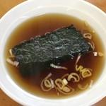 こうや食堂 - スープ  ¥80