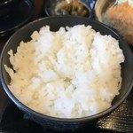 キセキ食堂 - ご飯:炊き具合抜群