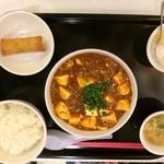 87290468 - 麻婆豆腐(中)セット