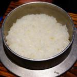 こだわり米 匠 - 炊きたての銀シャリ(*´Д`*)