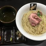 超純水採麺 天国屋 - 2018/6/9限定・ウルメ水の昆布汁つけ麺 しめご飯付(1000円)