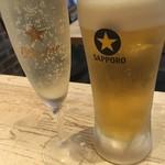 肉バル×ワイン酒場 東京食堂 - 趣味が噛み合わない二人のスタート(笑)