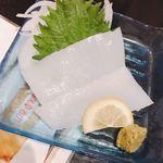 味のれん - イカ刺780円…