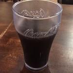 IRISH PUB Peter Cole - パスタランチ(ペスカトーレビアンコ) ¥780 に付くセルフのドリンク(アイスコーヒー)