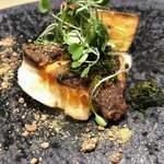 オルト - 真鯛のロースト 鯛白子のソース