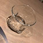 オルト - お水のグラスもかわいいです