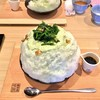 Kakinohasushihirasou - 料理写真:ほうれん草のおひたし氷