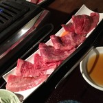 焼肉 仙珠 - 特上3種御膳(2,000円)