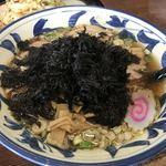 くいしん坊 - 料理写真:岩のりラーメン醬油味 大盛