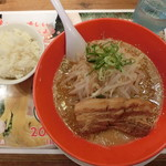 87296461 - 冷やし角煮味噌&ライス(サービス)