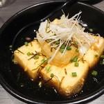 創作和食 個室居酒屋 楓葉の響 - 餅入り揚げ出し豆腐(780円)