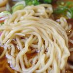 自然派ラーメン処 麻ほろ - 麺