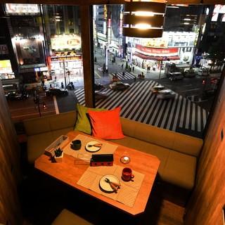 【新宿】夜景×個室