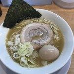 麺屋 瑞風 - 料理写真:【2018.6.4】味玉鶏白湯ラーメン¥850