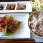AIRSIDE CAFE - お昼ごはんランチ(サラダ・ドリンク付き)850円