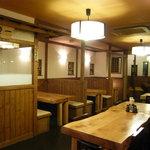 上州麺処 平野家 - 2008年7月にリニューアルした店内