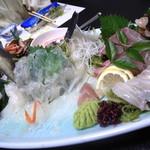 創味魚菜 岩手川 - お造り