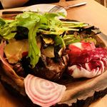 87306021 - 焼き野菜とブラータチーズ