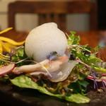 アマルフィイ キッチン - 黒鯛と蛸のマリネ 鎌倉野菜添え