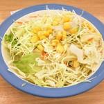 松屋 - セットのサラダ