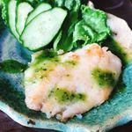 芳水 - 甘鯛のソテー バジルソース