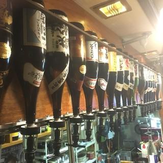 愛知の地酒も毎日1000円飲み放題!
