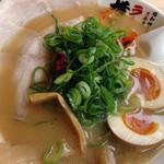 ラーメン横綱 - 唐辛子+葱