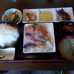 87307721 - 刺身定食(1,000円)