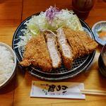 三是食堂 かつどころ - Bigロースカツ定食(ご飯味噌汁おかわり無料) 1050円