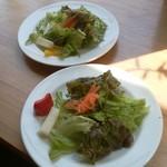 ブリキボタン CAFE&DINING - サラダ