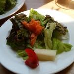 ブリキボタン CAFE&DINING - 赤パプリカ