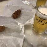 87309770 - 生ビール、クロッケ、アランチーニ
