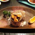 創菜美酒 たかお - サザエのつぼ焼き ¥740