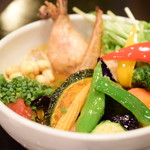 Rojiura Curry SAMURAI. - チキンと1日分の野菜20品目@税込1,580円