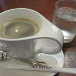 砂の栖 - ドリンク写真:喫茶室でサザコーヒー