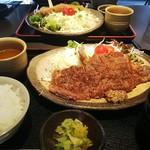 レストラン 牛石 - ステーキ定食
