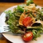 ピッツェリア グランデ - ランチセットのサラダ。