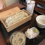 そばきり 日曜庵 - 粗挽せいろ蕎麦、水蕎麦付き