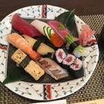 加根古 - 竹寿司1550円