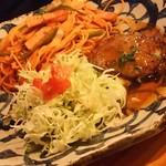 レストラン木木 - ナポリタン&和風ハンバーグ