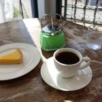 ゼロハチコーヒー - コーヒーとレモンのタルト