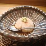 肴とお酒 うを弘 - 料理写真:焼き胡麻豆腐 予約した時間に合わせて焼く心配りが感じられた