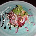 8732115 - お魚のカルパッチョ サラダ仕立て(630円)