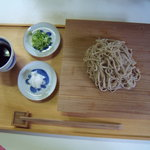 すさかべ庵 - ざる蕎麦 大盛り  1100円